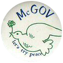 McGovern campaign pin